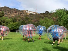 Bumper Balls pick-up game at Lake Hollywood Park