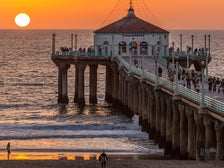 "Manhattan Beach Pier | Photo Courtesy of Eric Demarq, <a href="" https://flic.kr/p/hD2vAg"" target=""_blank"">Flickr</a>"