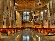 Cathedral of Our Lady of the Angels interior