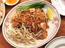 """Thai style"" pad thai at Pailin Thai Cuisine"