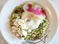 Sorrel Pesto Rice Bowl at Sqirl