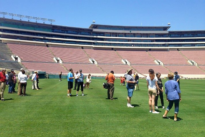 Rose Bowl Stadium tour
