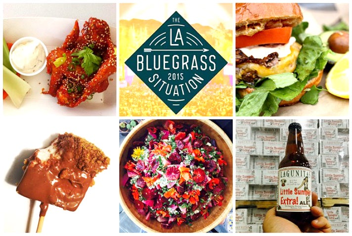 The Bluegrass Situation food collage