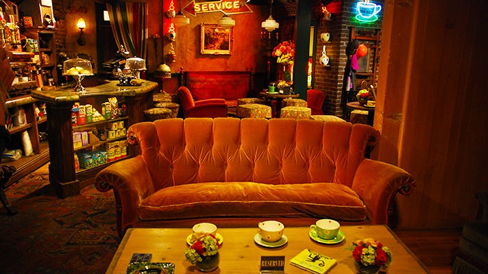"Central Perk set from ""Friends,"" Warner Bros. Studio Tour Hollywood"
