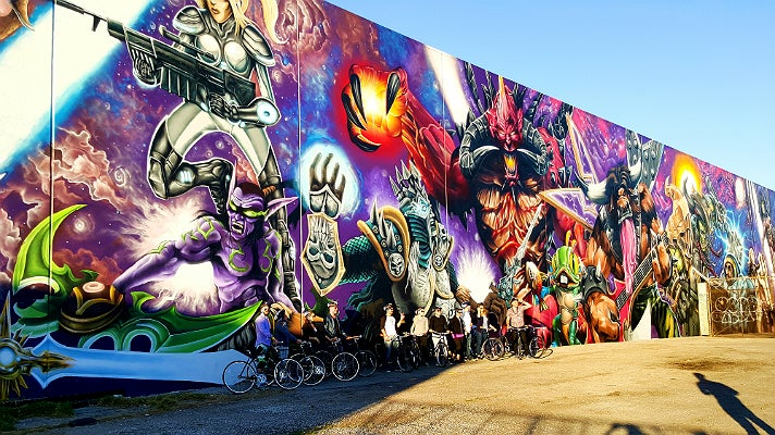 Graffiti/Murals Tour from L.A. Art Tours