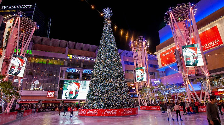 LA Kings Holiday Ice at L.A. LIVE