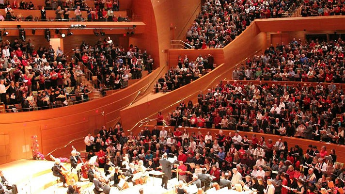 Messiah Sing-Along at Walt Disney Concert Hall