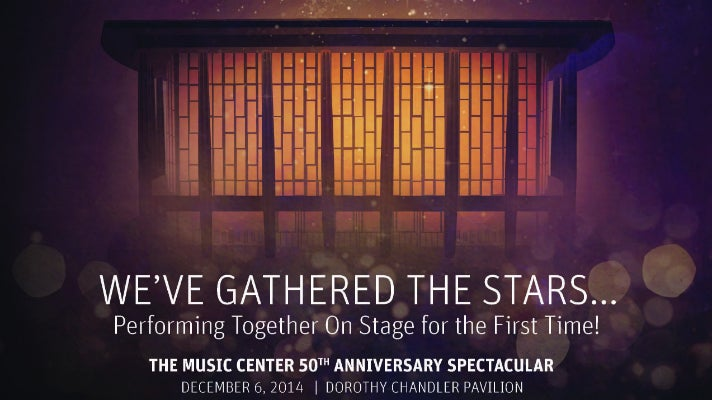 Music Center 50th Anniversary Spectacular & Gala Dinner