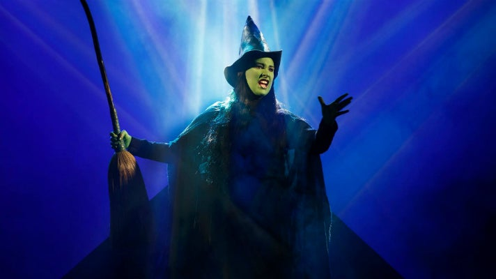 """Emma Hunton in """"Wicked"""" at The Pantages Theatre"""