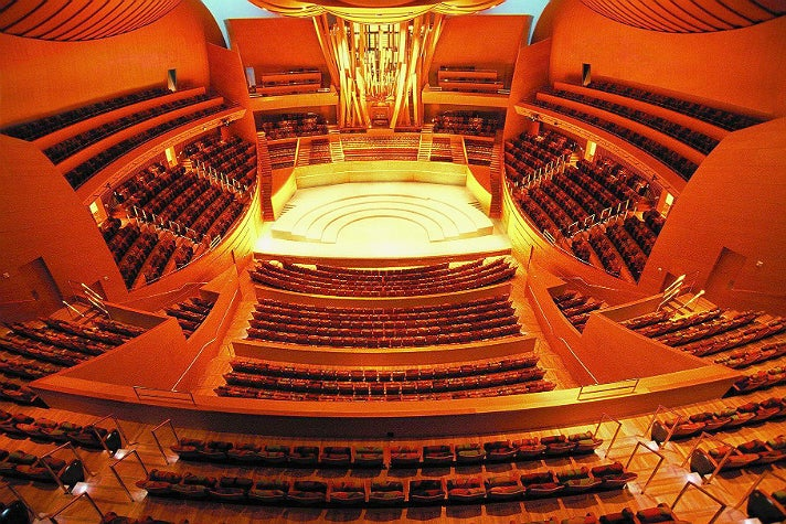 Auditorium at Walt Disney Concert Hall