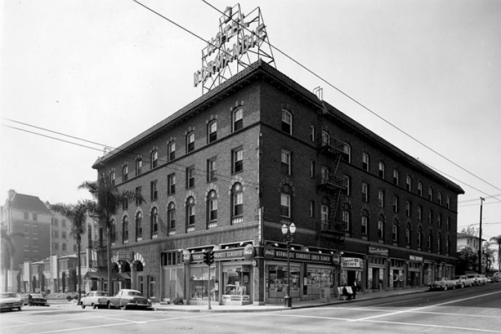 Historic photo of Hotel Normandie