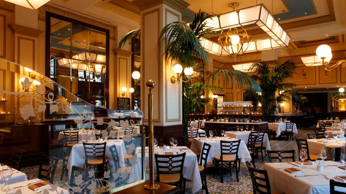 Bouchon dining room