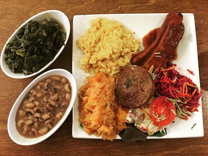 Organic Soul Food Platter at Stuff I Eat