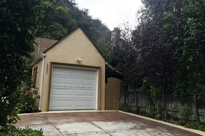 Susan Berman's house on Benedict Canyon in Beverly Hills   Photo by Mya Stark