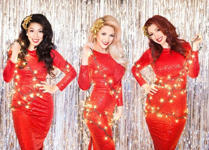 American Bombshells at Queen Mary Christmas