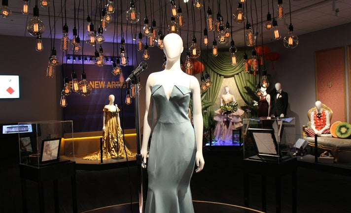 """Lady Gaga's dress from """"A Star is Born"""" at Warner Bros. Studio Tour Hollywood"""
