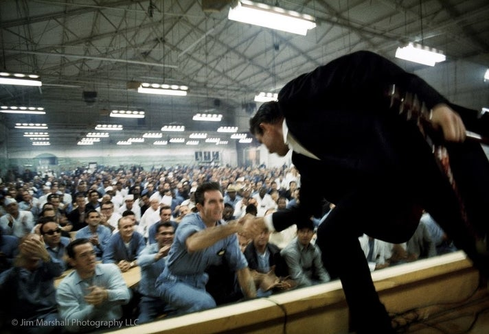 """""""The Prison Concerts: Folsom And San Quentin (Jim Marshall's Photographs Of Johnny Cash)"""" at the GRAMMY Museum"""