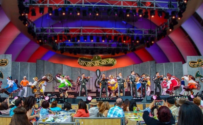 Mariachi USA at the Hollywood Bowl