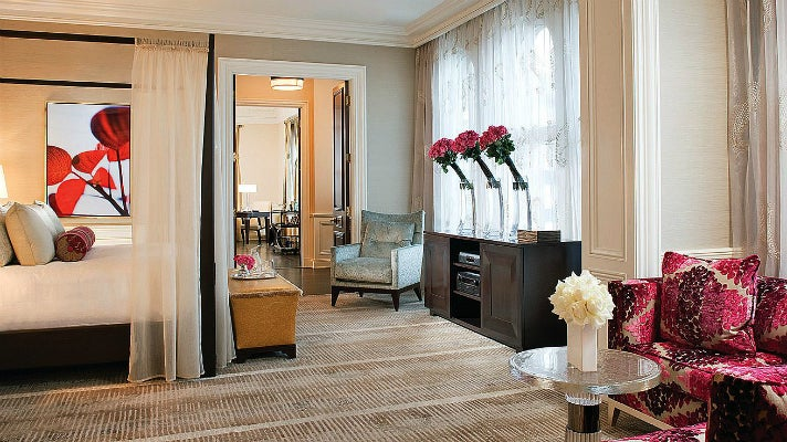Beverly Presidential Suite at the Beverly Wilshire Hotel