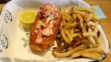 Lobster roll at Connie and Ted's