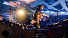 The Earth Harp at Grand Performances
