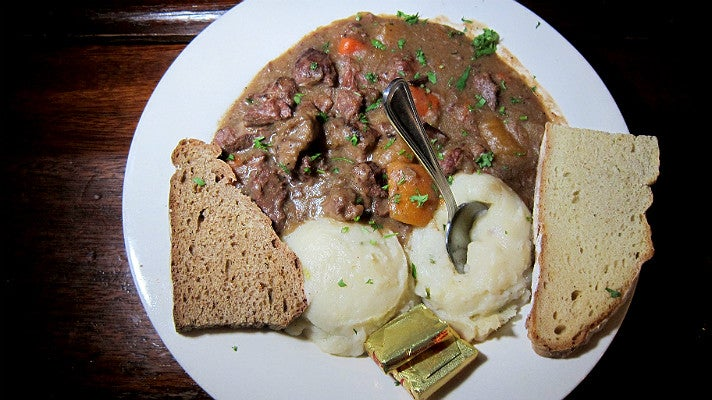 Guinness Beef Stew at Finn McCool's
