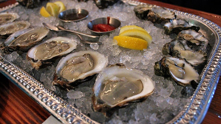 Oysters at Portsmouth