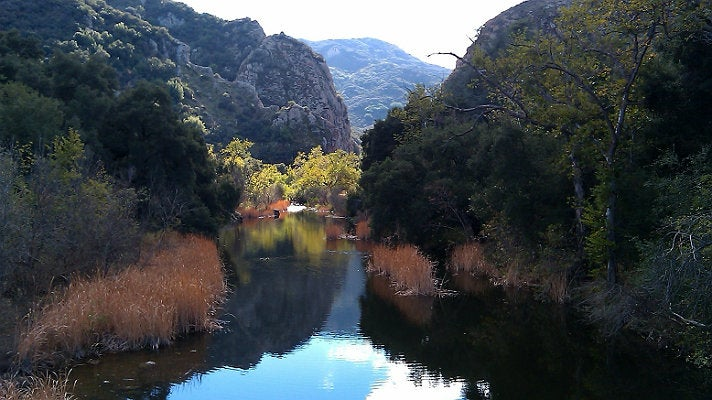 Malibu Creek at Malibu State Park