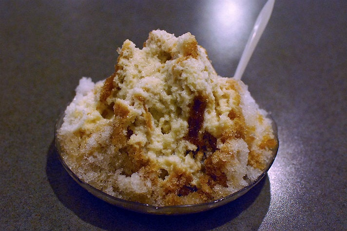 Shaved ice at SinBaLa