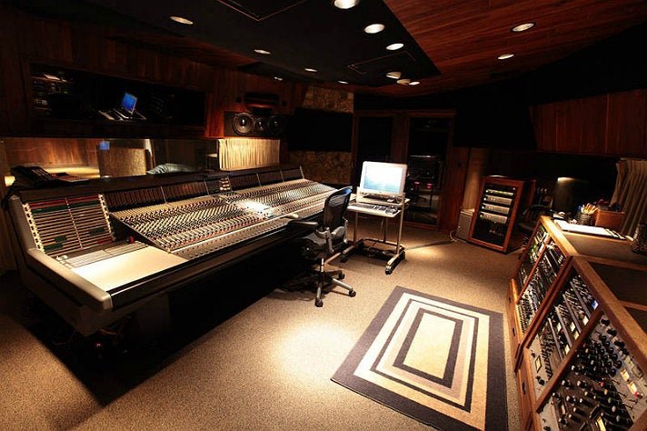 Studio A at Westlake Recording Studios