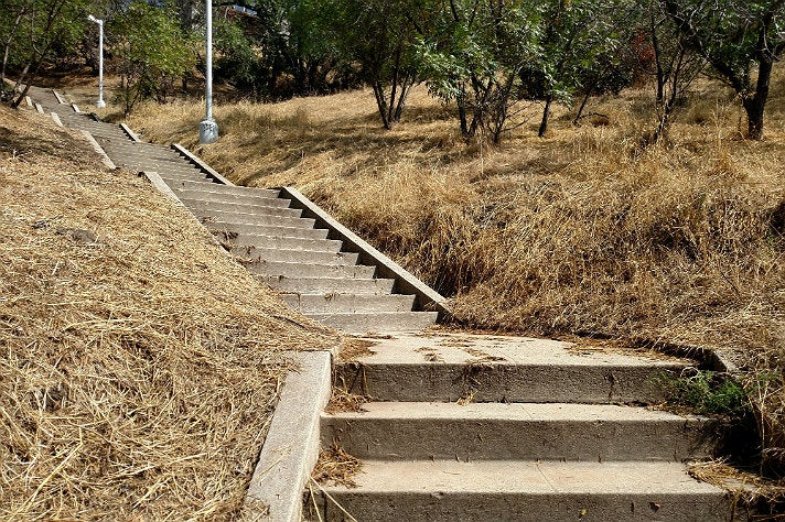 Baxter Street Stairs in Echo Park