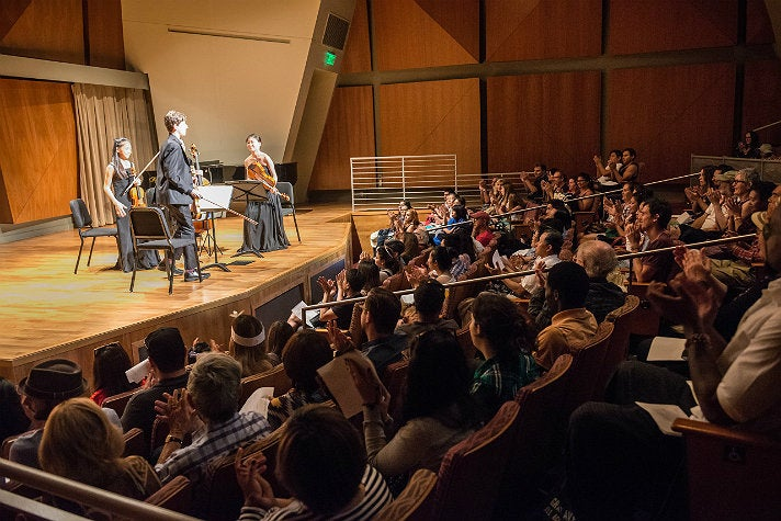 Recital at the Colburn School for Grand Avenue Arts