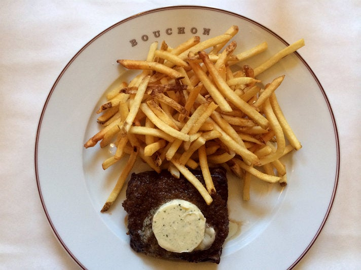 Pommes frites at Bouchon Bistro