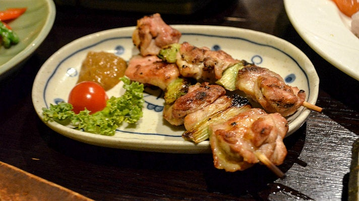 Yakitori at Izakaya Fu-Ga