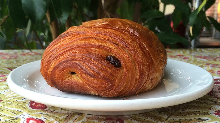 Pain au Chocolat at Maison Giraud