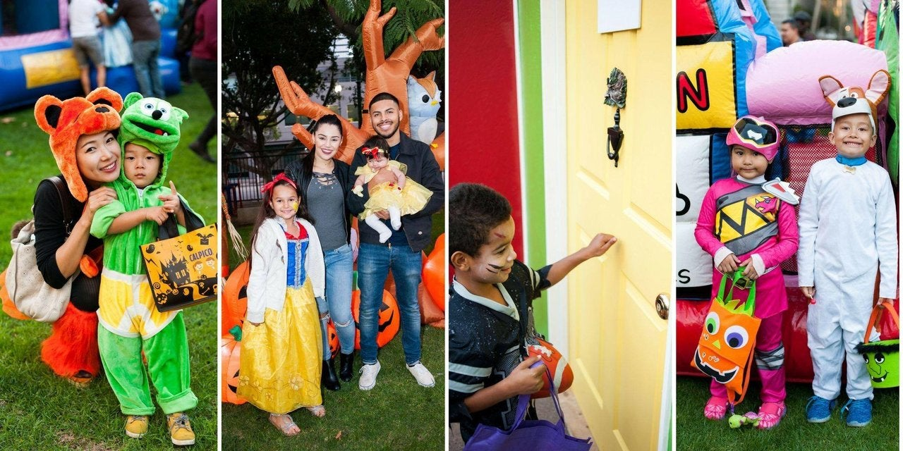 Halloween Party for DTLA Kids at Grand Hope Park