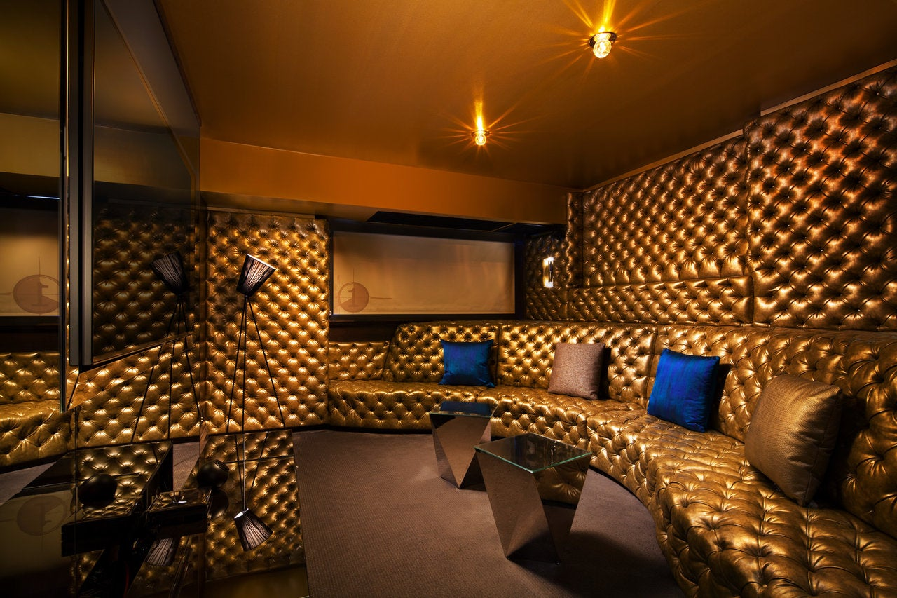 Screening room in the E-WOW Suite at W Los Angeles - West Beverly Hills
