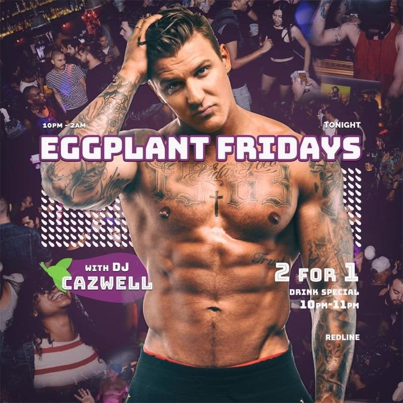 Eggplant Fridays at Redline